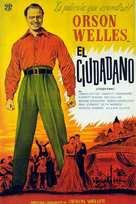 Citizen Kane - Argentinian Movie Poster (xs thumbnail)