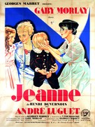Jeanne - French Movie Poster (xs thumbnail)