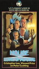 House of the Long Shadows - Dutch VHS movie cover (xs thumbnail)