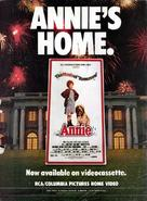 Annie - Video release movie poster (xs thumbnail)