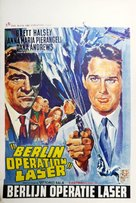 Berlino - Appuntamento per le spie - Belgian Movie Poster (xs thumbnail)