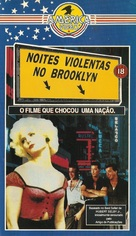 Last Exit to Brooklyn - Brazilian VHS cover (xs thumbnail)