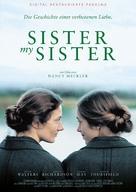 Sister My Sister - German Movie Poster (xs thumbnail)