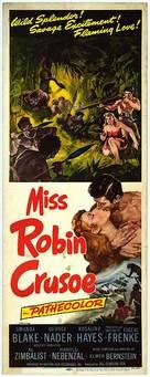 Miss Robin Crusoe - Movie Poster (xs thumbnail)