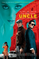 The Man from U.N.C.L.E. - Norwegian Movie Poster (xs thumbnail)