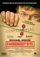 Fahrenheit 9/11 - Swedish Movie Cover (xs thumbnail)