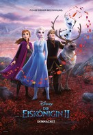 Frozen II - Swiss Movie Poster (xs thumbnail)
