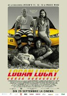 Logan Lucky - Romanian Movie Poster (xs thumbnail)