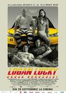 Logan Lucky - Romanian Movie Poster (xs thumbnail)