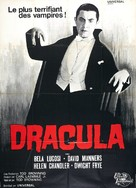 Dracula - French Movie Poster (xs thumbnail)