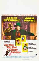 The Man Who Shot Liberty Valance - Movie Poster (xs thumbnail)
