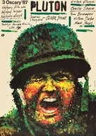 Platoon - Polish Movie Poster (xs thumbnail)