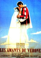 Amants de Vèrone, Les - French Movie Poster (xs thumbnail)