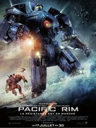 Pacific Rim - French Movie Poster (xs thumbnail)