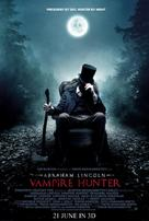 Abraham Lincoln: Vampire Hunter - Malaysian Movie Poster (xs thumbnail)