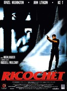 Ricochet - French Movie Poster (xs thumbnail)