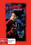 A Nightmare On Elm Street Part 2: Freddy's Revenge - Australian DVD movie cover (xs thumbnail)