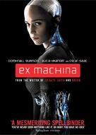 Ex Machina - DVD movie cover (xs thumbnail)