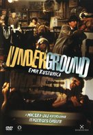 Underground - Hungarian Movie Cover (xs thumbnail)
