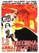 Macchina ammazzacattivi, La - French Movie Poster (xs thumbnail)