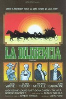 Stagecoach - Spanish Movie Poster (xs thumbnail)