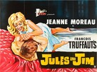 Jules Et Jim - British Movie Poster (xs thumbnail)