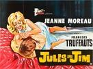 Jules Et Jim - British Movie Poster (xs thumbnail)