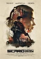 Sicario - Slovenian Movie Poster (xs thumbnail)