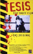 Tesis - German VHS movie cover (xs thumbnail)