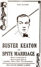 Spite Marriage - poster (xs thumbnail)