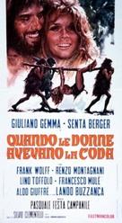 Quando le donne avevano la coda - Italian Movie Poster (xs thumbnail)