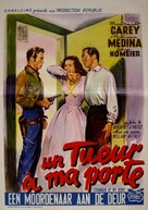 Stranger at My Door - Belgian Movie Poster (xs thumbnail)