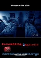 Paranormal Activity 3 - Italian Advance movie poster (xs thumbnail)