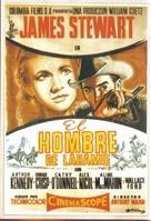 The Man from Laramie - Spanish Movie Poster (xs thumbnail)