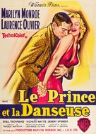 The Prince and the Showgirl - French Movie Poster (xs thumbnail)