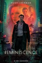 Reminiscence - Danish Movie Poster (xs thumbnail)
