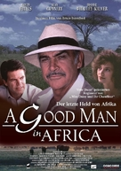 A Good Man in Africa - German Movie Poster (xs thumbnail)
