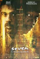 Se7en - Swedish Movie Poster (xs thumbnail)