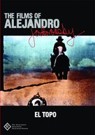 El topo - Australian DVD cover (xs thumbnail)