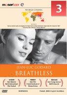 À bout de souffle - Indian DVD movie cover (xs thumbnail)