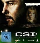 """CSI: Crime Scene Investigation"" - German Blu-Ray movie cover (xs thumbnail)"