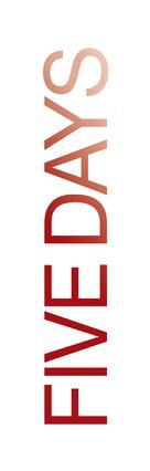 """""""Five Days"""" - Logo (xs thumbnail)"""