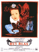 Ruy Blas - French Movie Poster (xs thumbnail)
