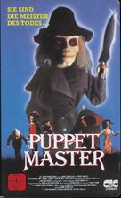 Puppet Master - German Movie Cover (xs thumbnail)