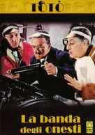 La banda degli onesti - Italian DVD cover (xs thumbnail)