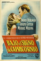 Under Capricorn - Argentinian Movie Poster (xs thumbnail)