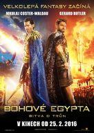 Gods of Egypt - Czech Movie Poster (xs thumbnail)