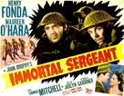 Immortal Sergeant - Movie Poster (xs thumbnail)