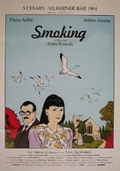 Smoking/No Smoking - German Movie Poster (xs thumbnail)
