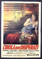 The Camp on Blood Island - Italian Movie Poster (xs thumbnail)